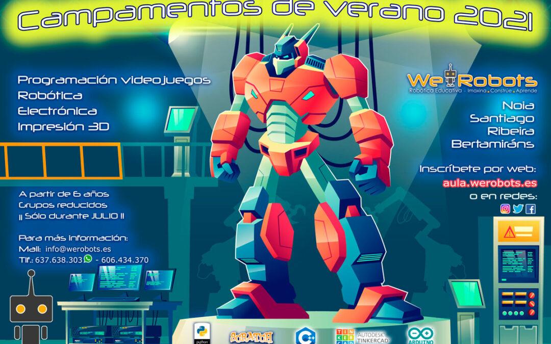 We Robots «BOT-CAMP» VERANO 2021